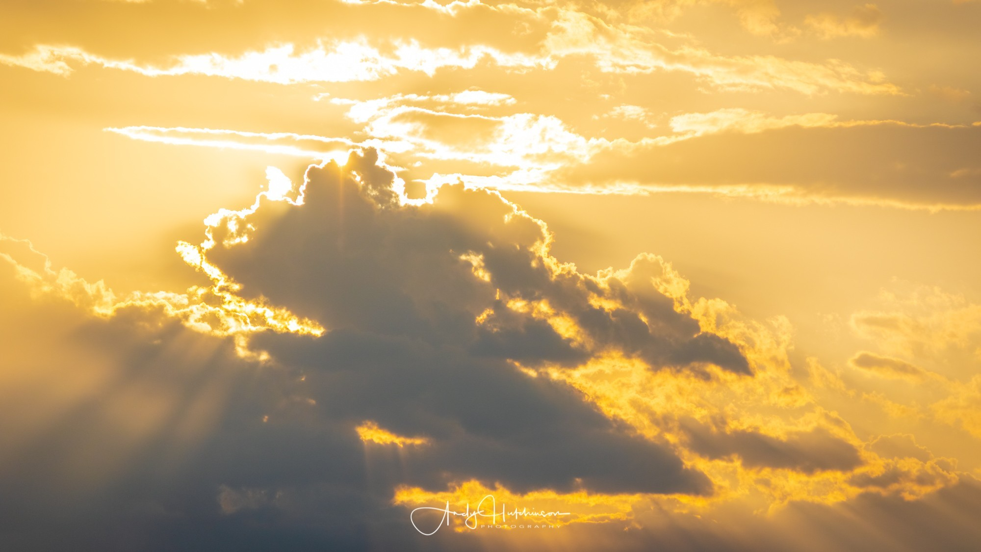 More dramatic sun-rays.