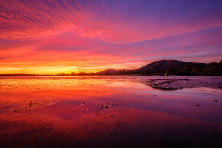 Shoalhaven Heads sunset by Andy Hutchinson